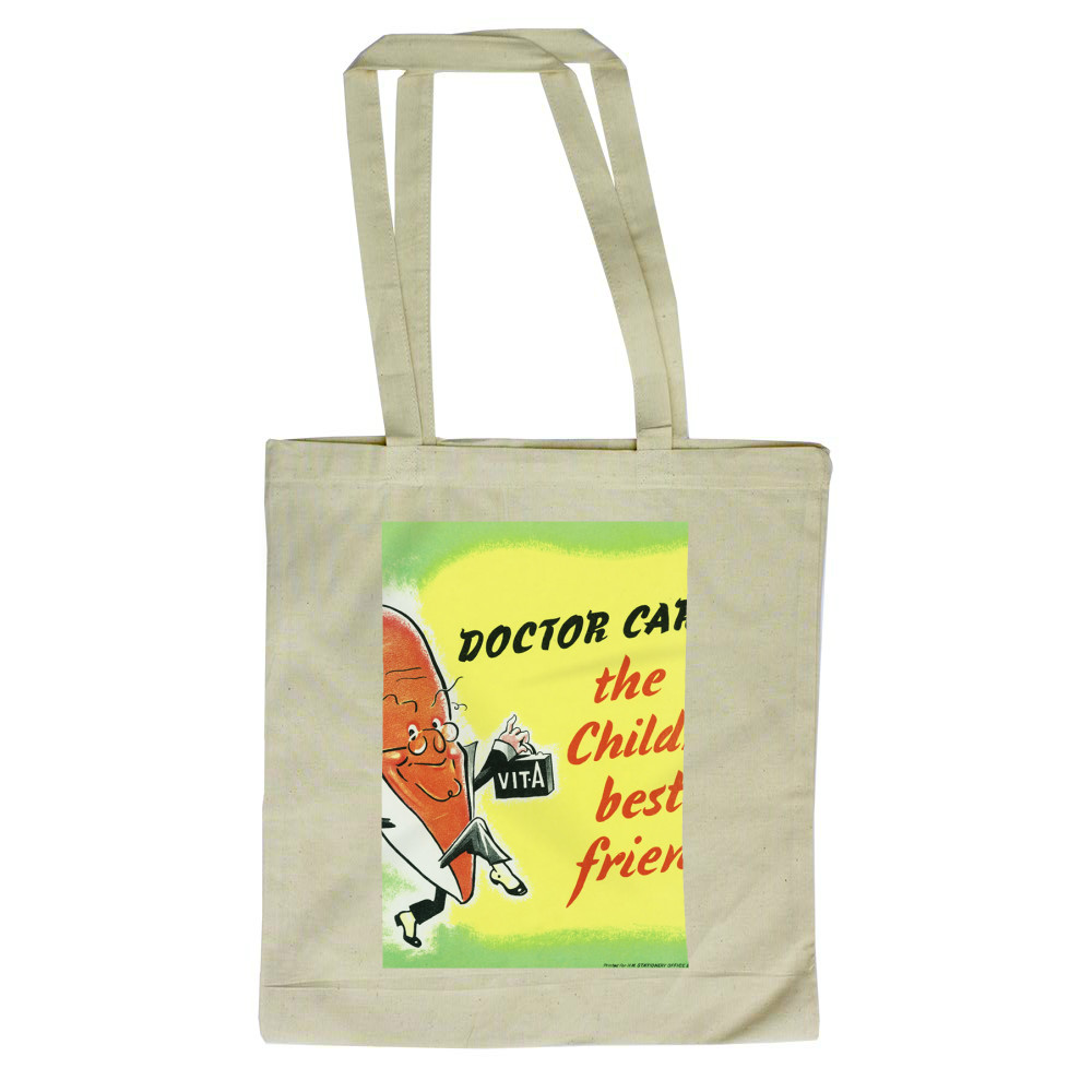 Doctor Carrot Tote Bag