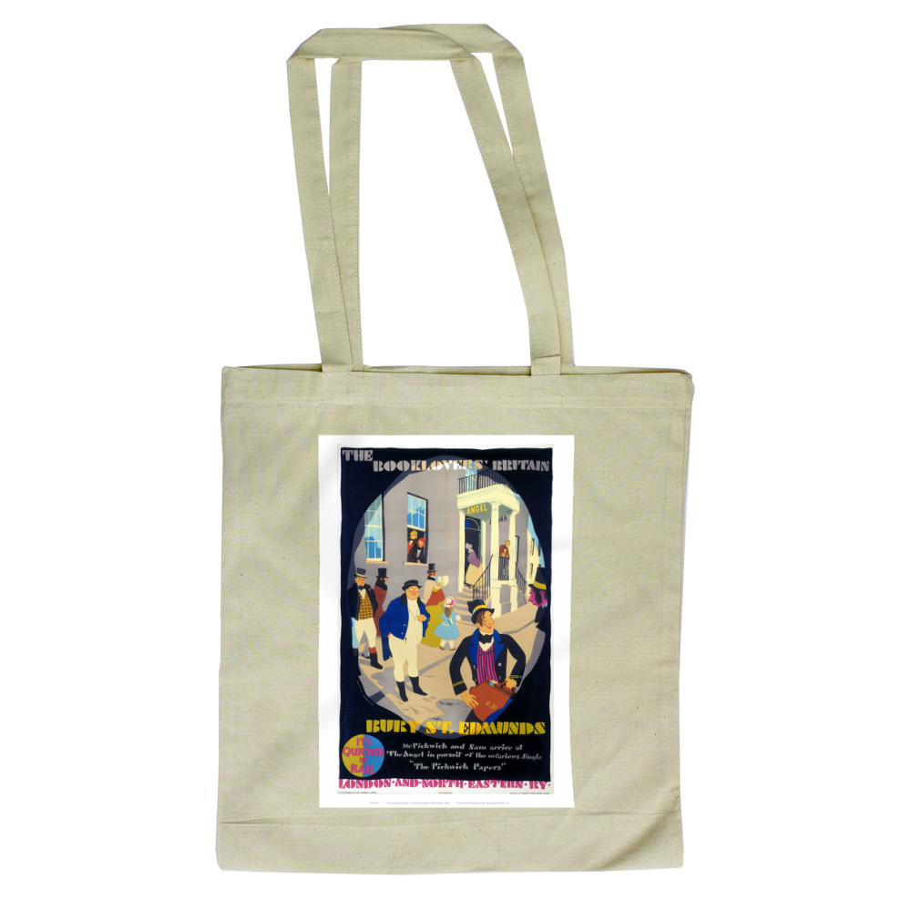 Railway Posters - Bury St Edmunds Tote Bag