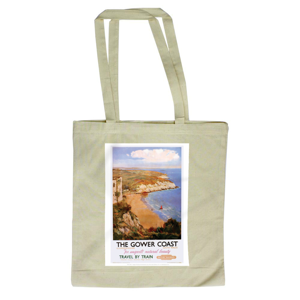 The Gower Coast, Glamorganshire Tote Bag