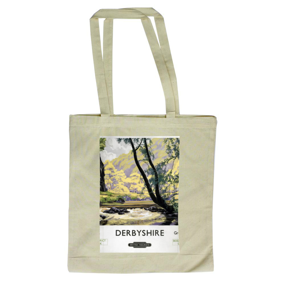 Derbyshire Chee Dale, Great Rocks Dale Tote Bag