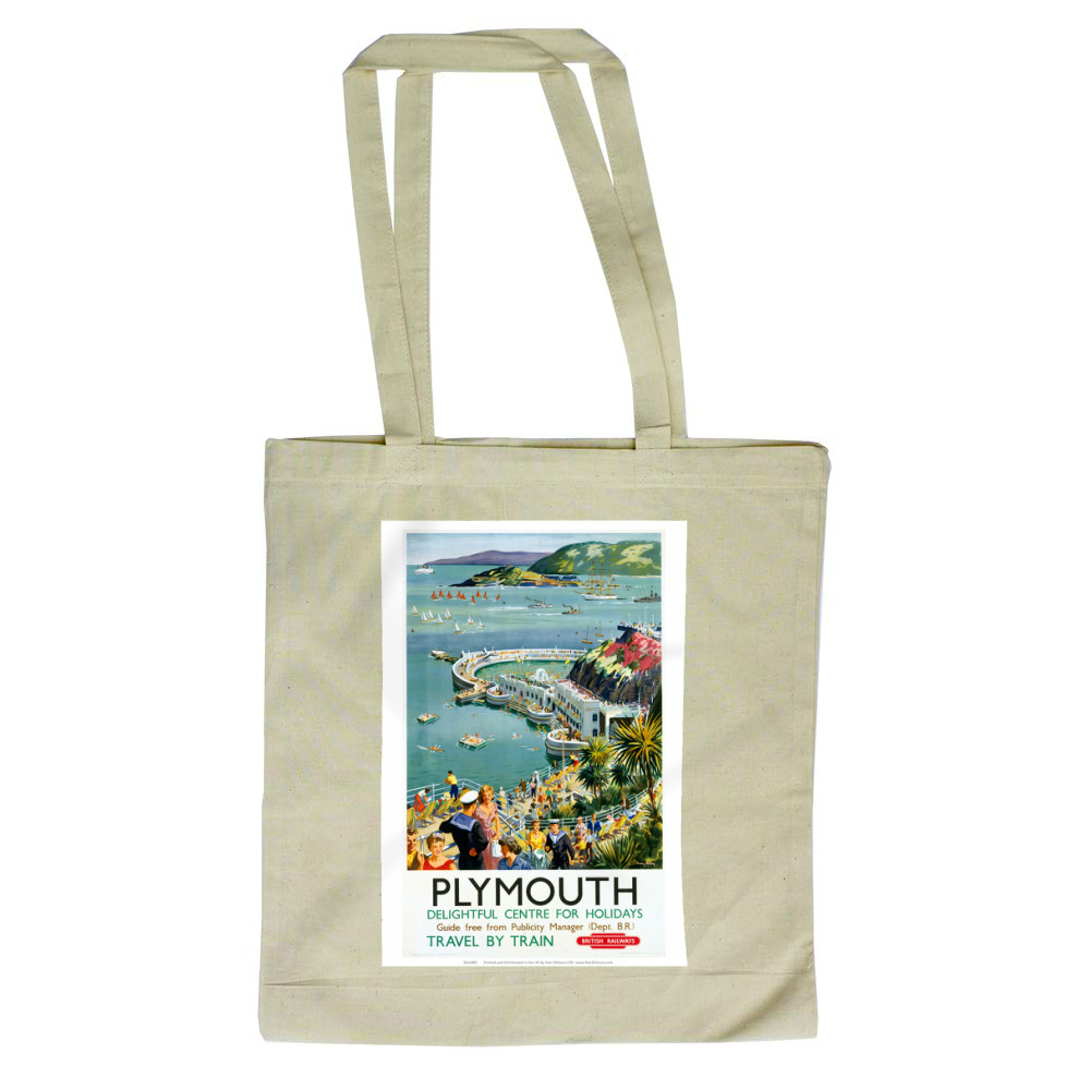 Plymouth - Seaside Delightful Center for holidays Tote Bag