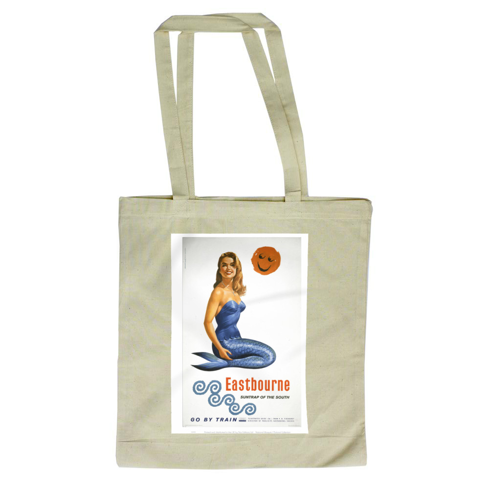 Railway Poster - Eastbourne Tote Bag