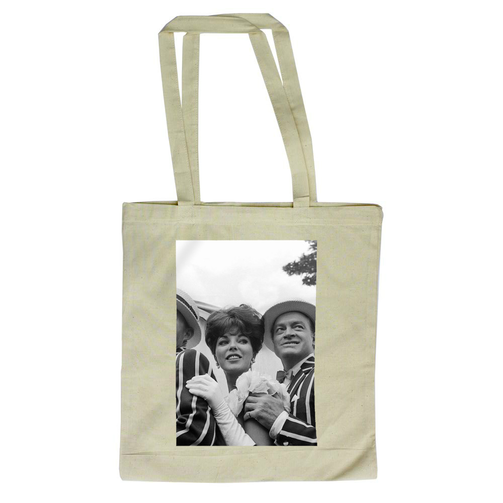 'Bing Crosby, Joan Collins and Bob Hope' Tote Bag