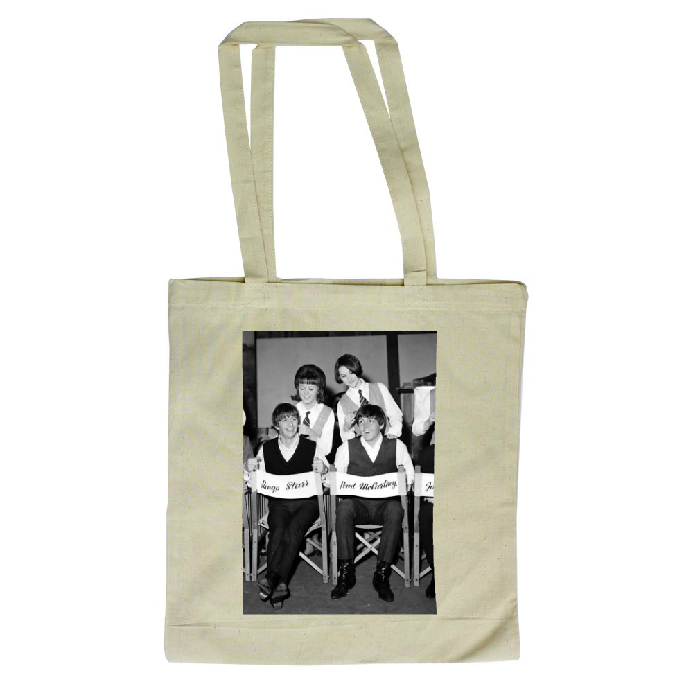 1964 The Beatles get the groom.. Tote Bag
