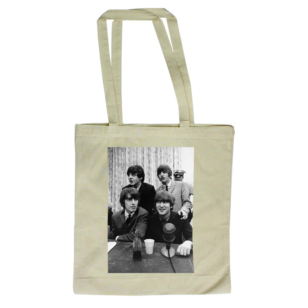 1964 The Beatles announce changes to.. Tote Bag
