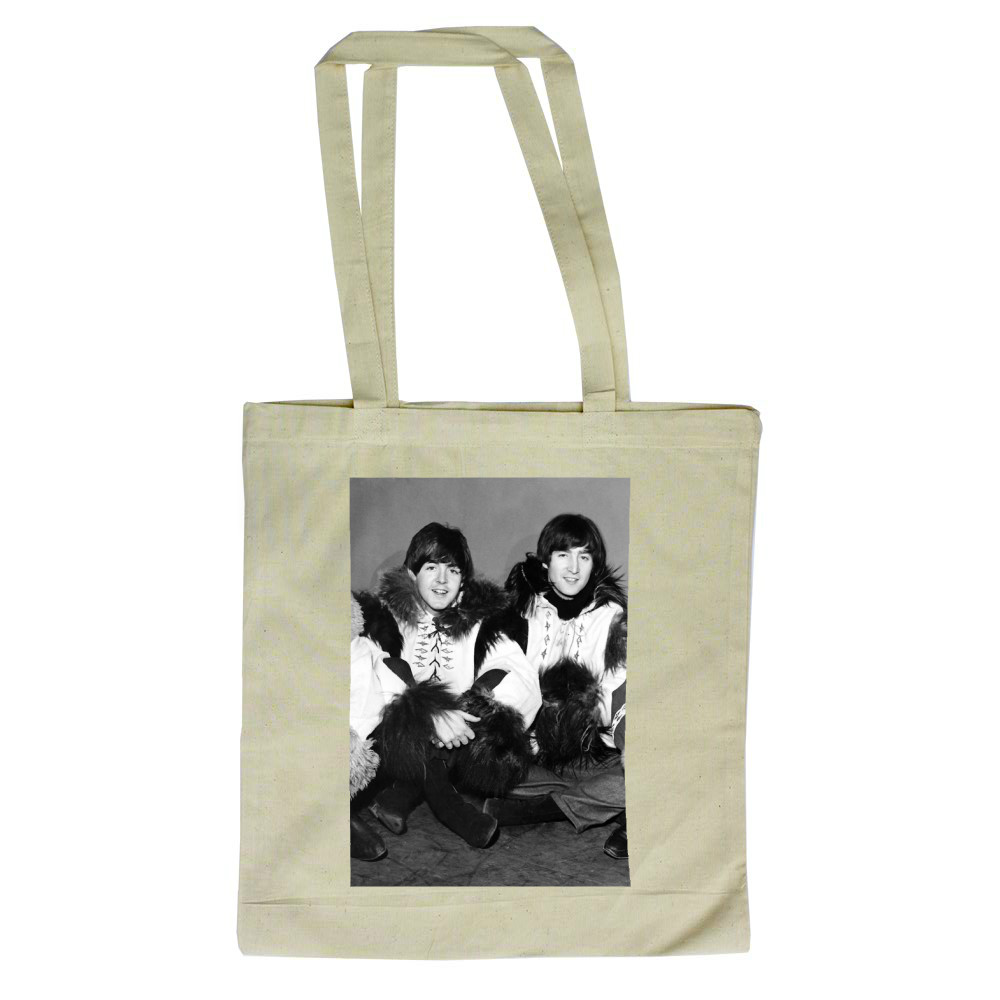 1964 The Beatles rehearse for Another.. Tote Bag