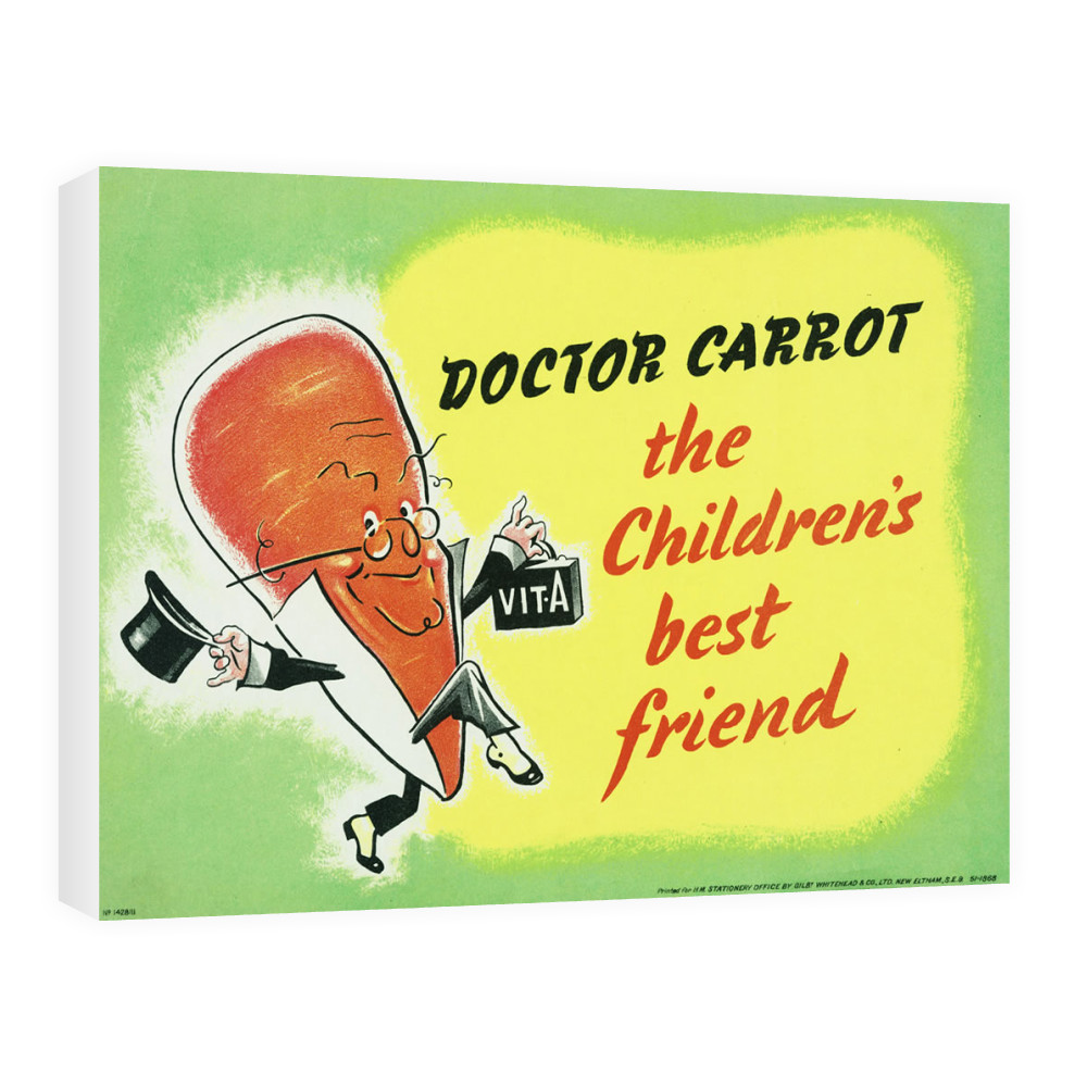 Doctor Carrot Canvas