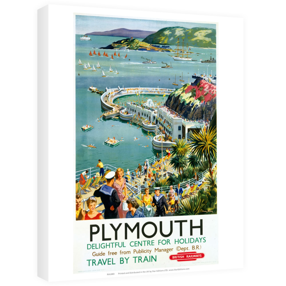 Plymouth - Seaside Delightful Center for holidays Canvas