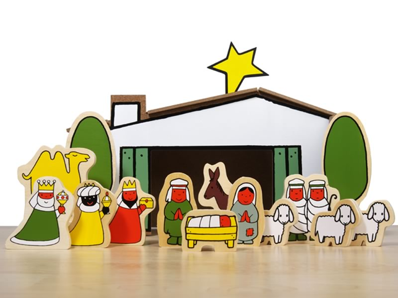 Dick Bruna Nativity Scene