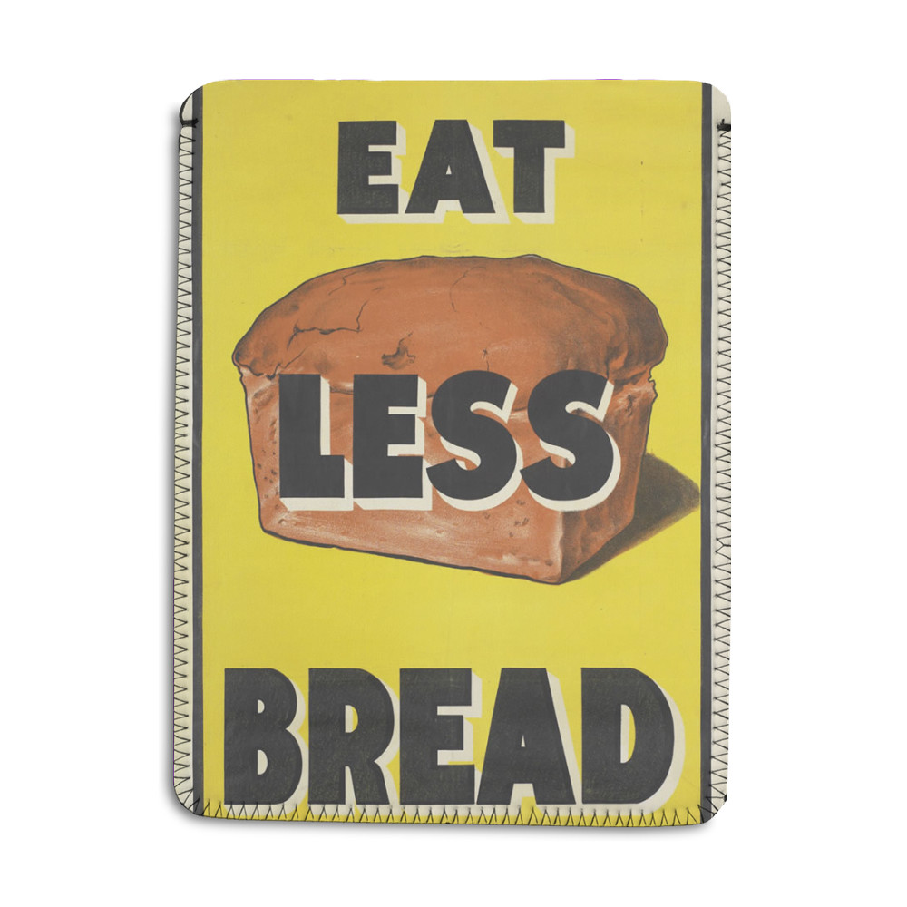 Eat Less Bread iPad Sleeve