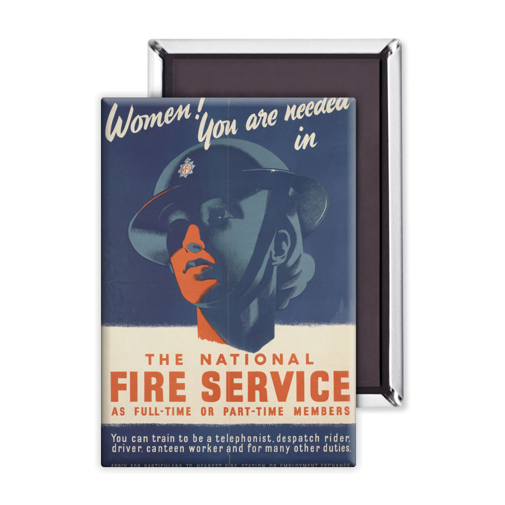 Fire Service Magnet