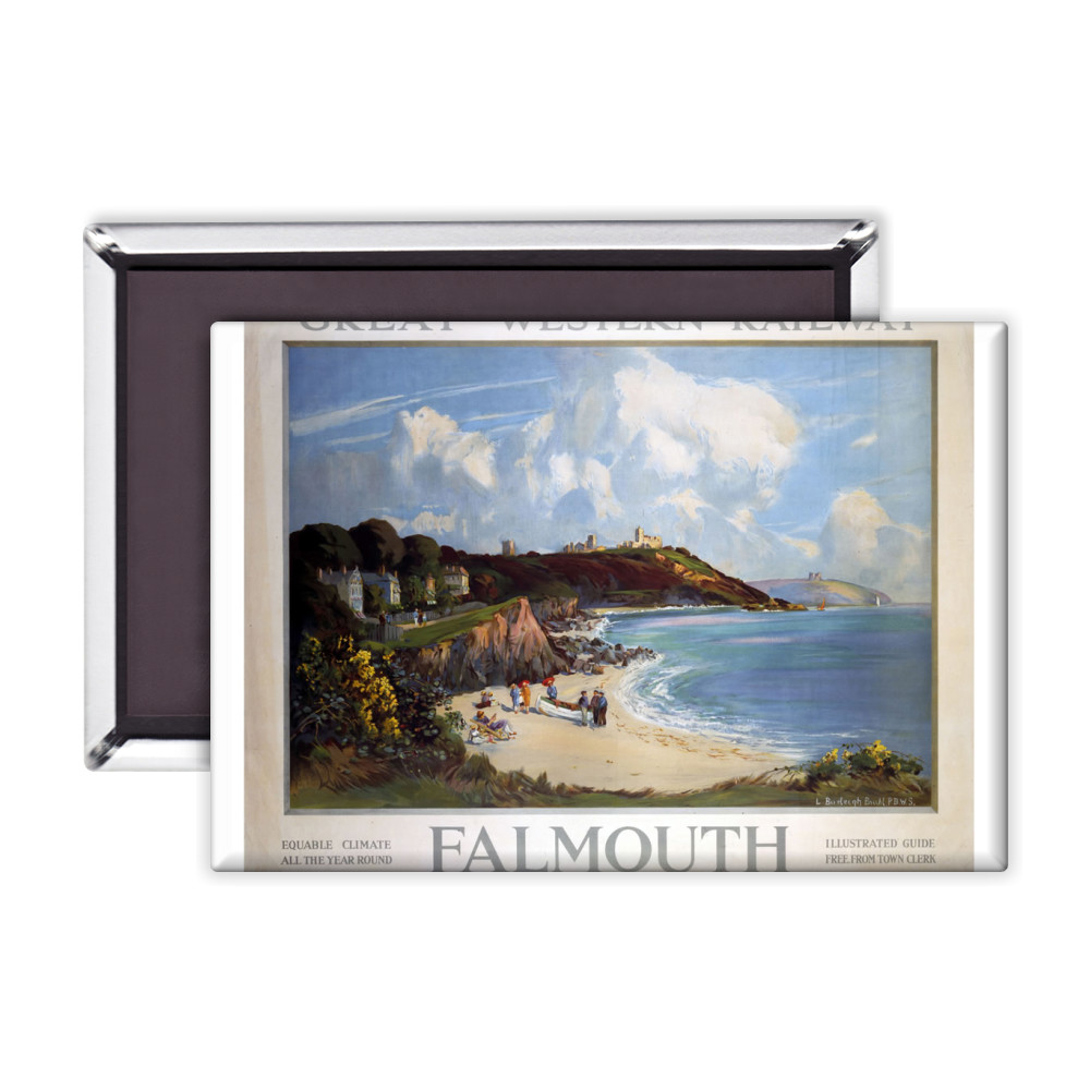 Railway Poster - Falmouth Magnet