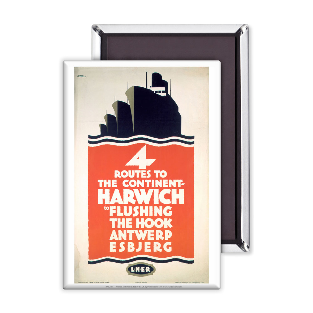 4 Route to the Continent - Harwich LNER Magnet