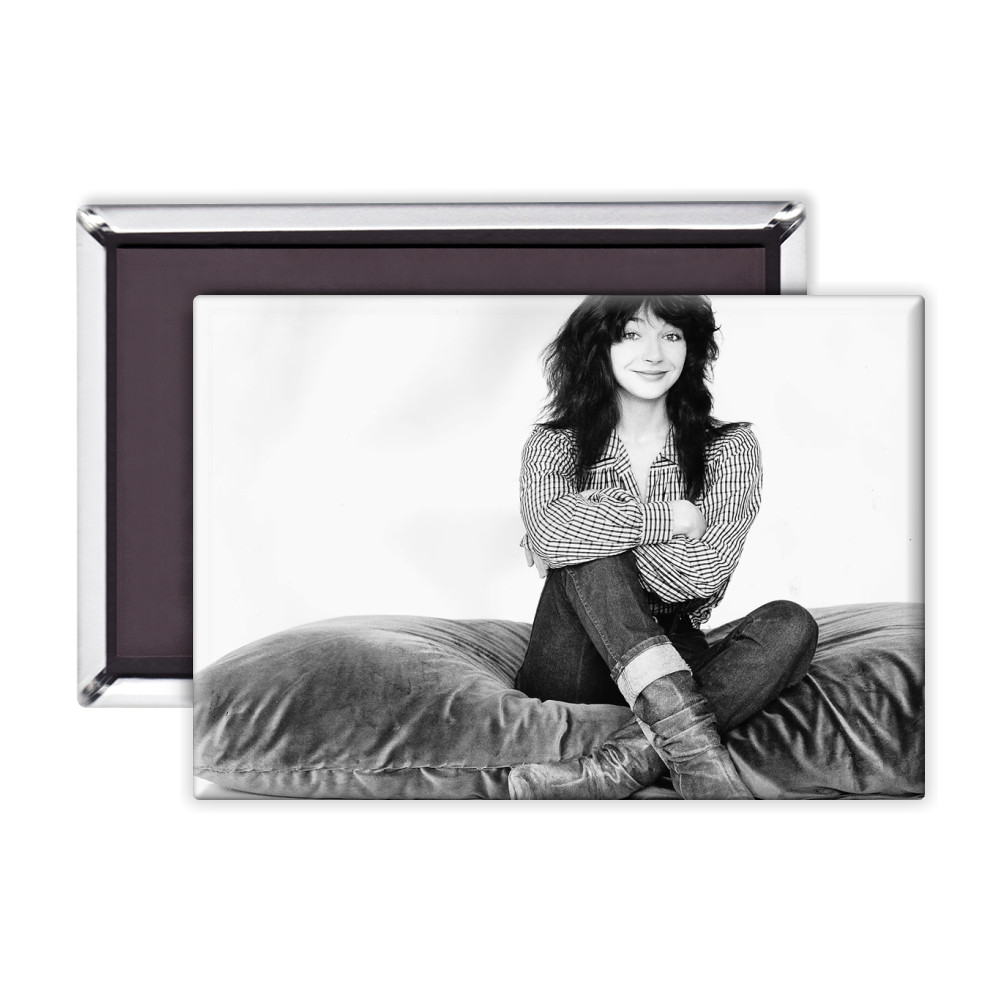 Kate Bush Singer Sitting On A Giant Cushion September 1983  Magnet