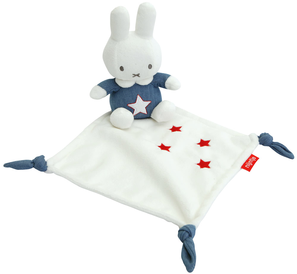 Miffy Blue Comfort Blanket
