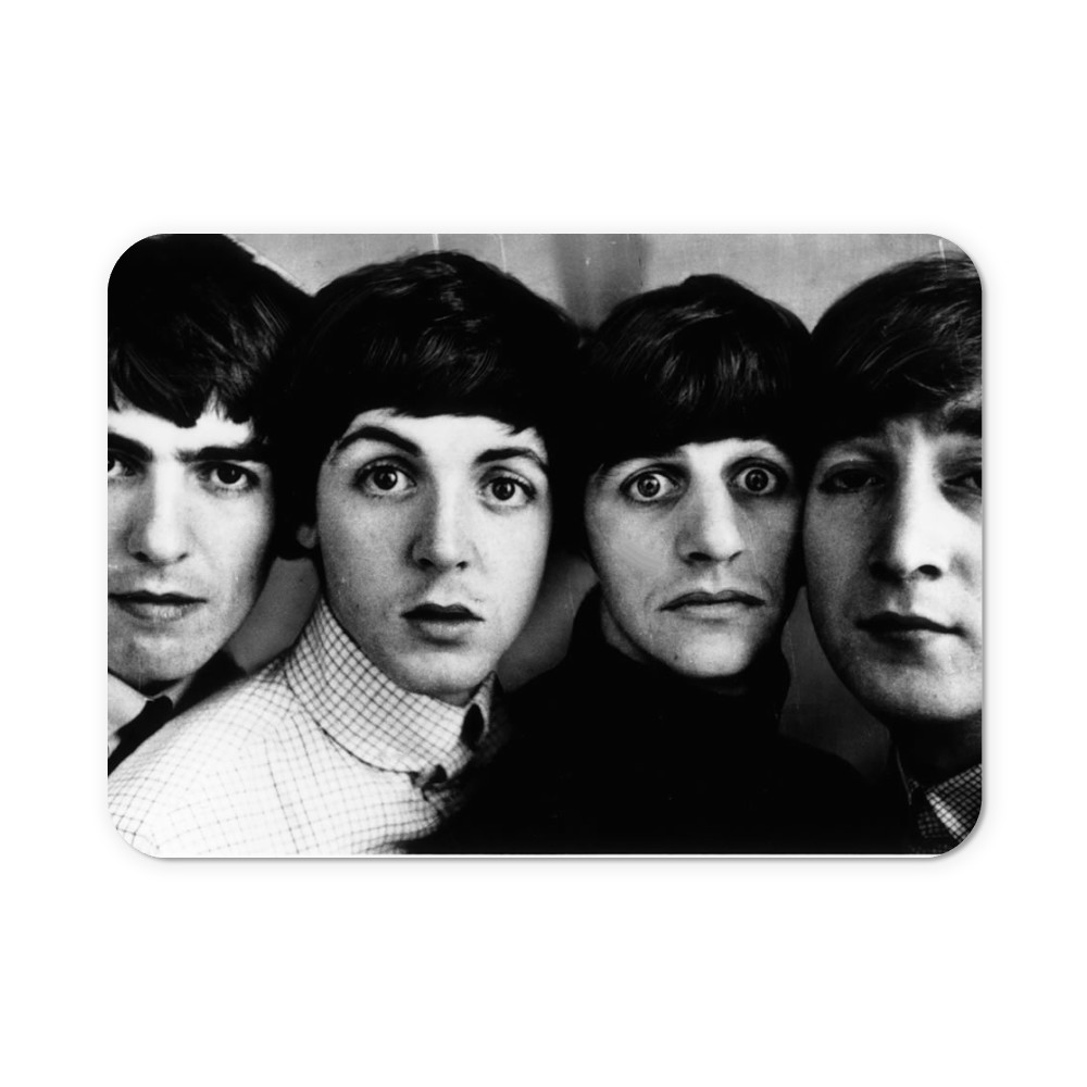 Beatles pop group in 1963. Heads next.. Neoprene Mouse Mat