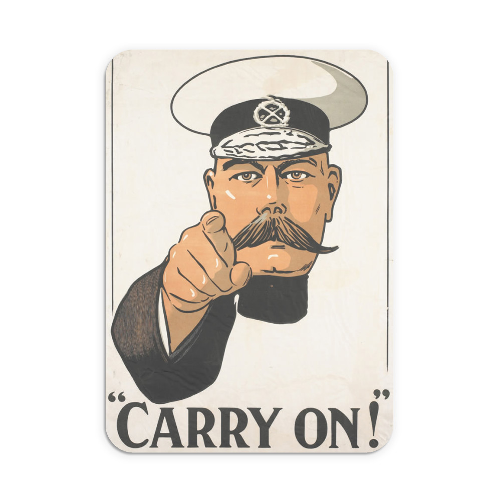 Carry on Neoprene Mouse Mat
