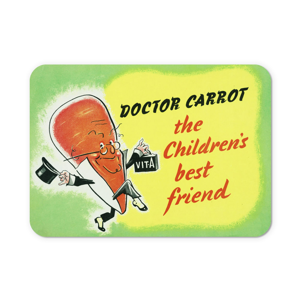 Doctor Carrot Neoprene Mouse Mat