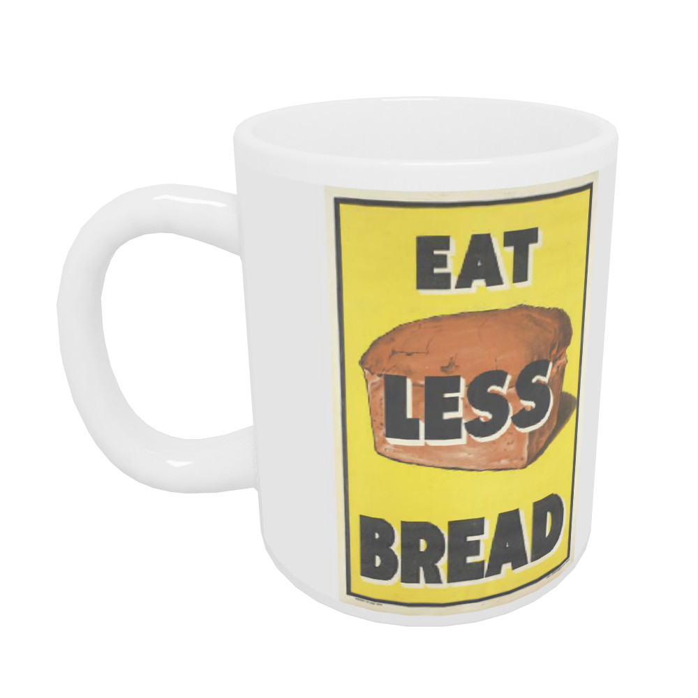 Eat Less Bread 10oz Mug