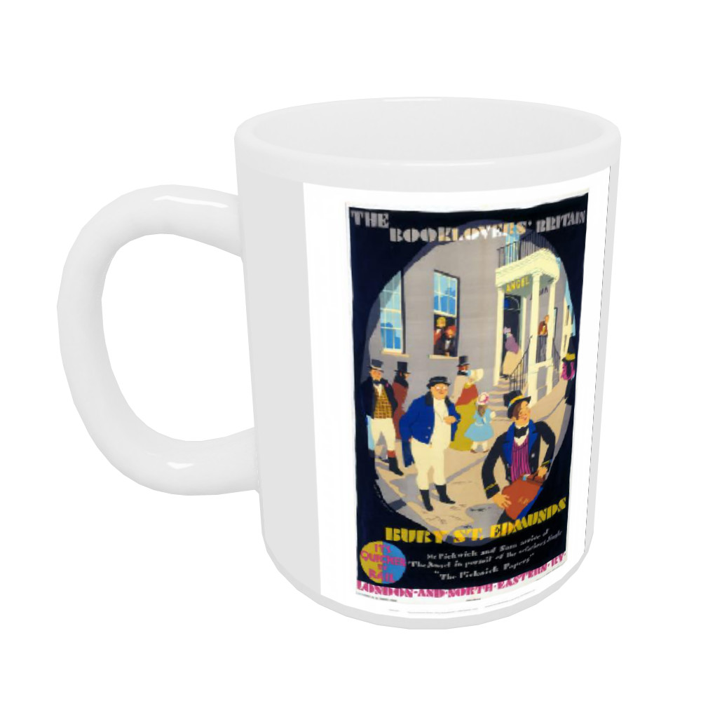 Railway Posters - Bury St Edmunds 10oz Mug