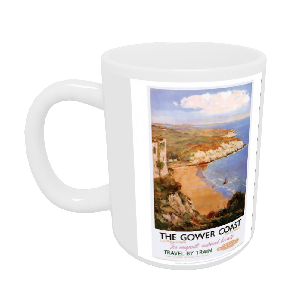 The Gower Coast, Glamorganshire 10oz Mug