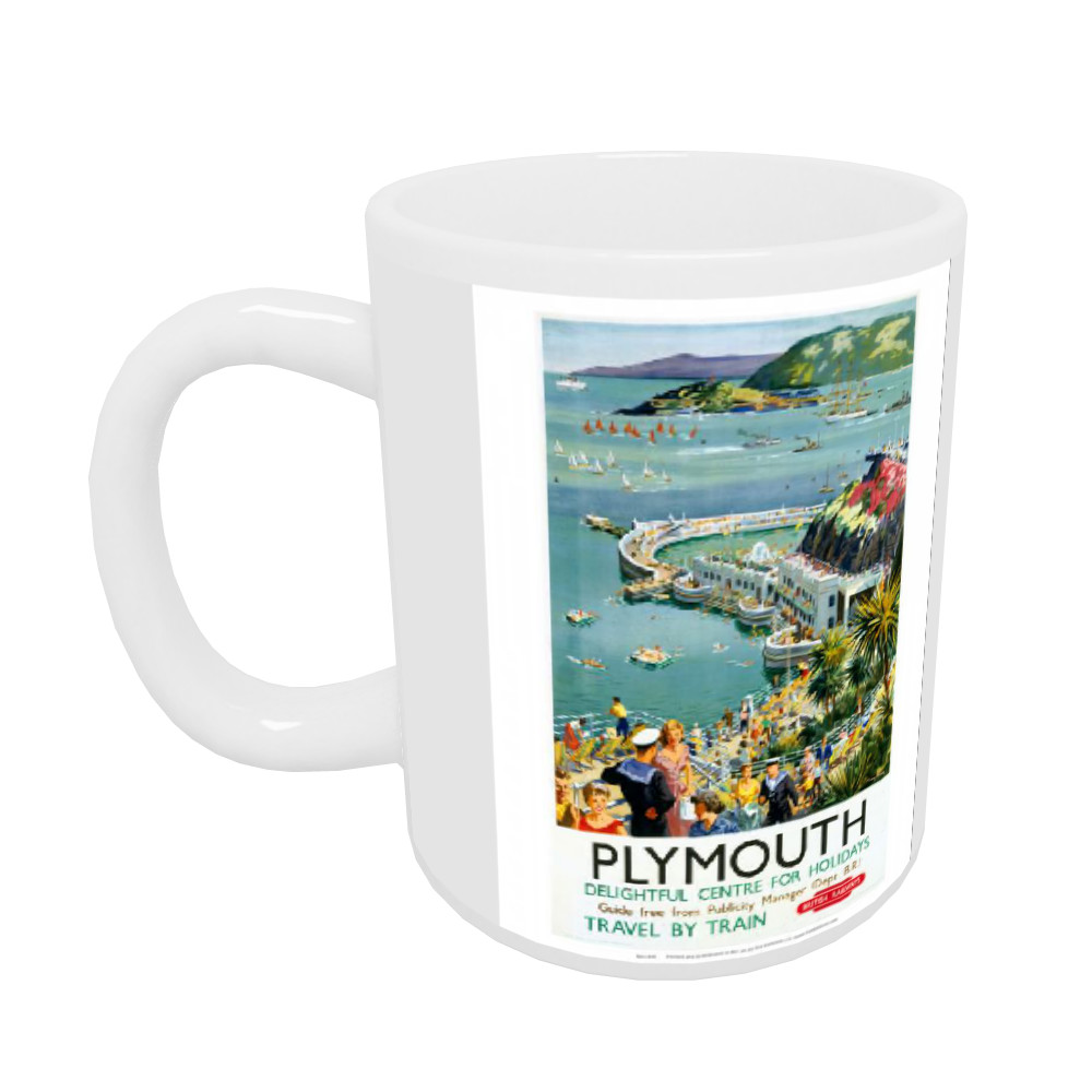 Plymouth - Seaside Delightful Center for holidays Mug
