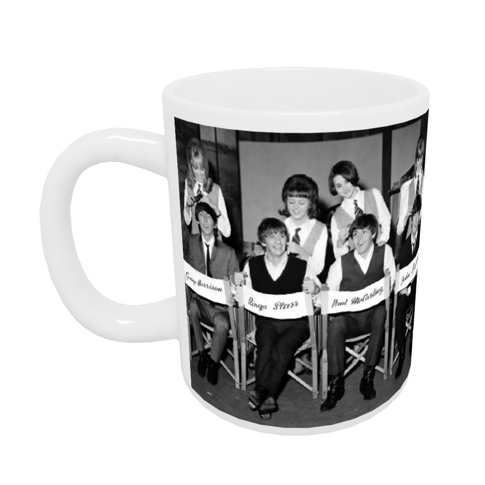 1964 The Beatles get the groom.. Mug