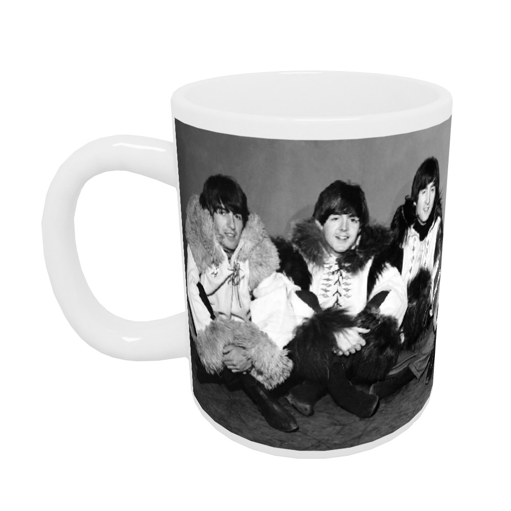 1964 The Beatles rehearse for Another.. 10oz Mug