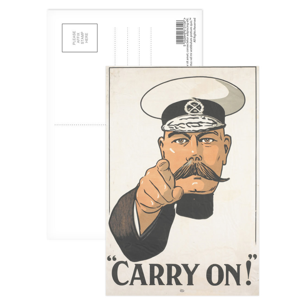 Carry on Postcard
