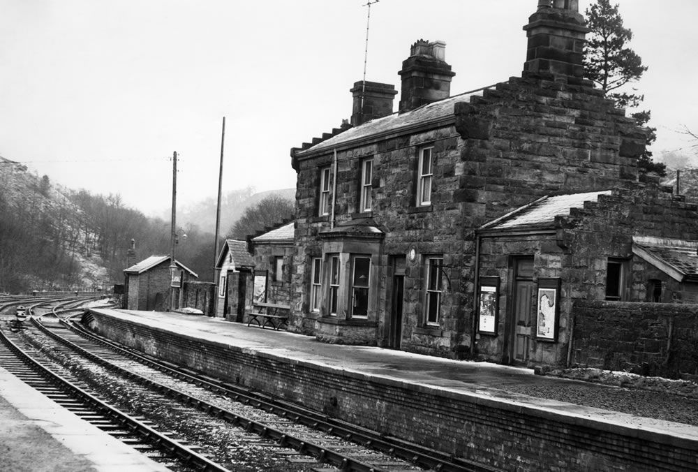 Glaisdale Railway Station, 1964 Art Print