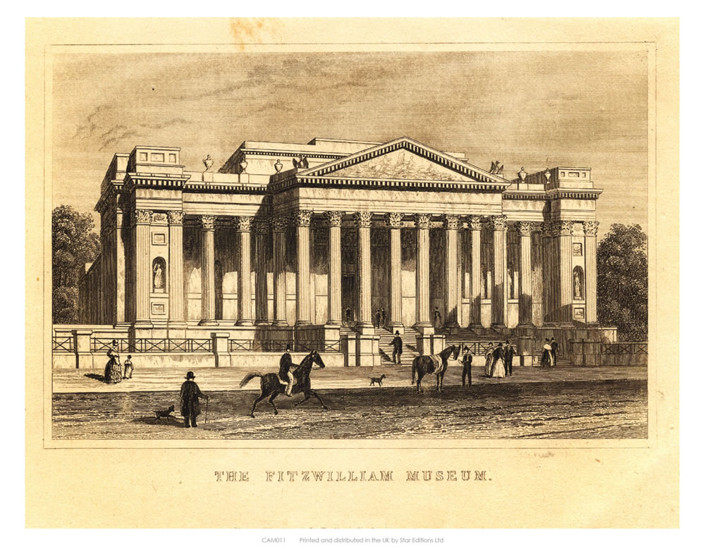 The Fitzwilliam Museum Art Print