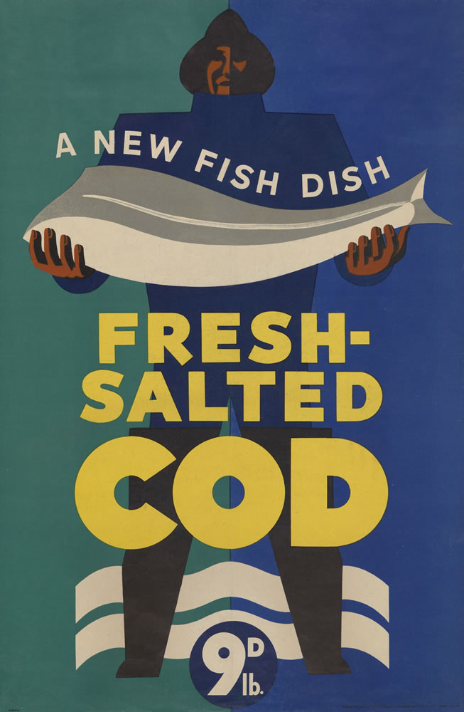 Fresh Salted Cod Art Print
