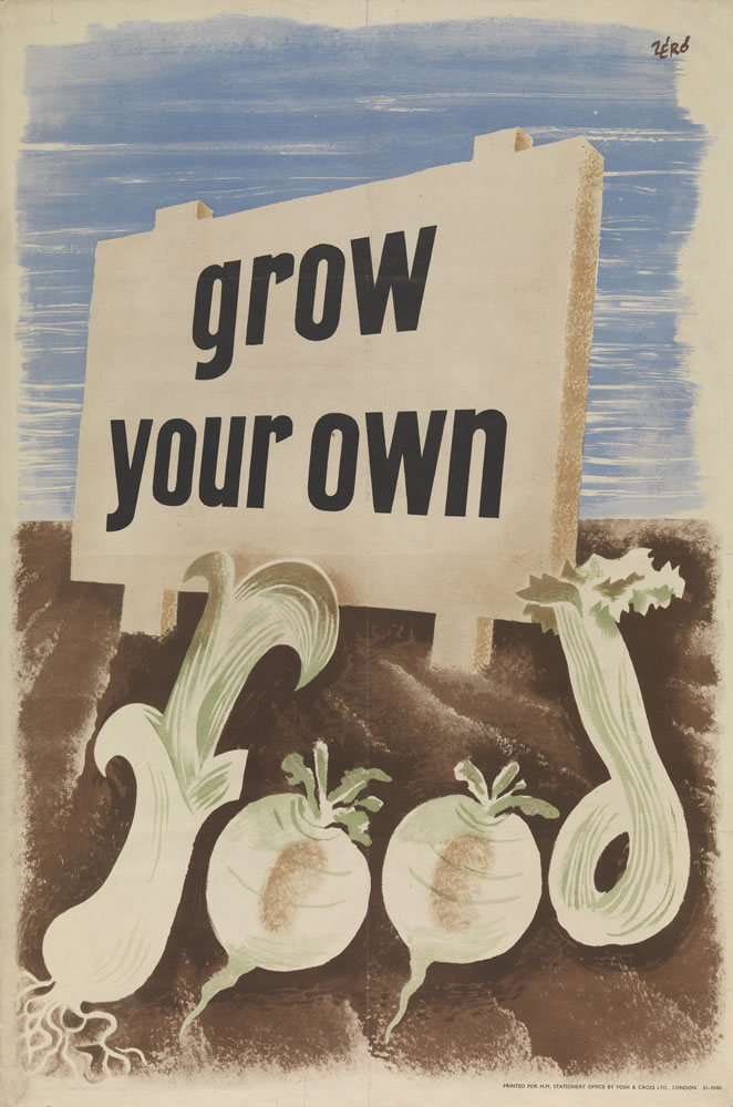 Grow your own food Art Print