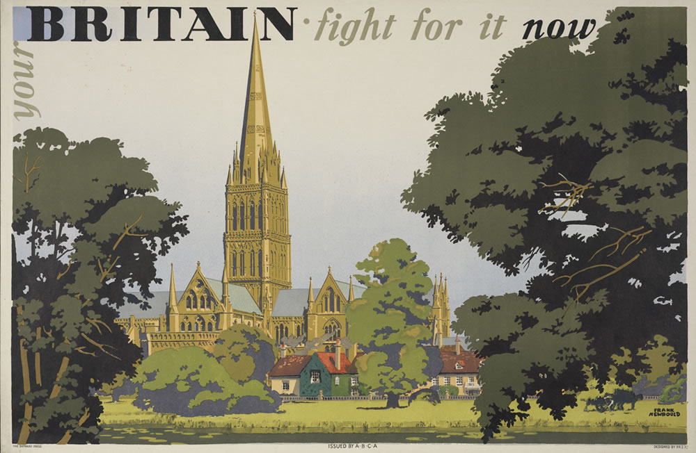 Britain - Fight for it now Art Print