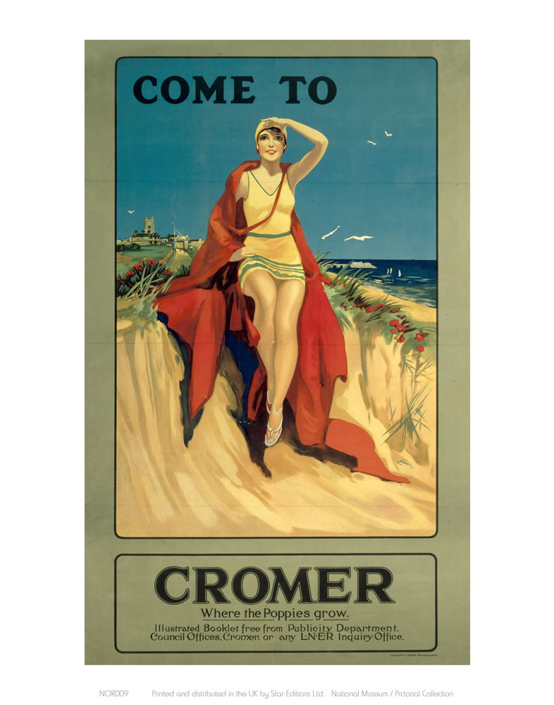 Come to Cromer Art Print