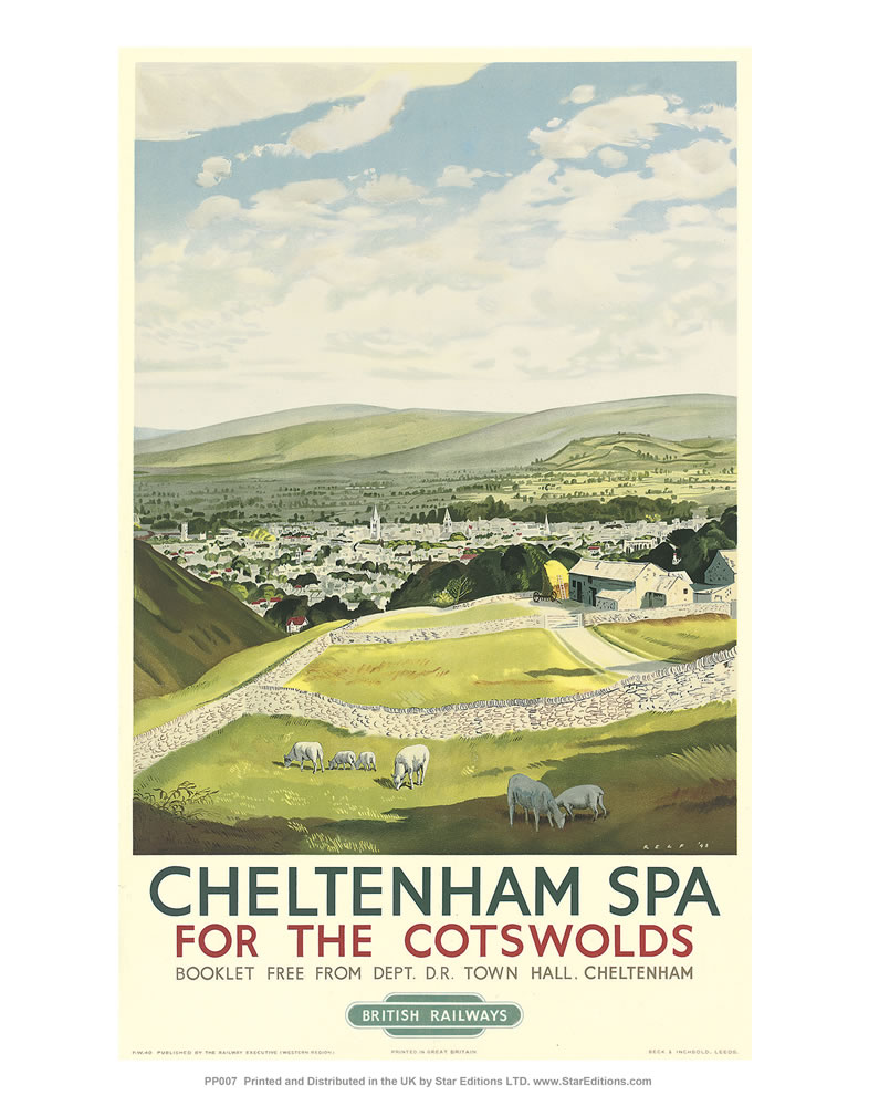 Cheltenham Spa - For the Cotswolds 11x14 Print