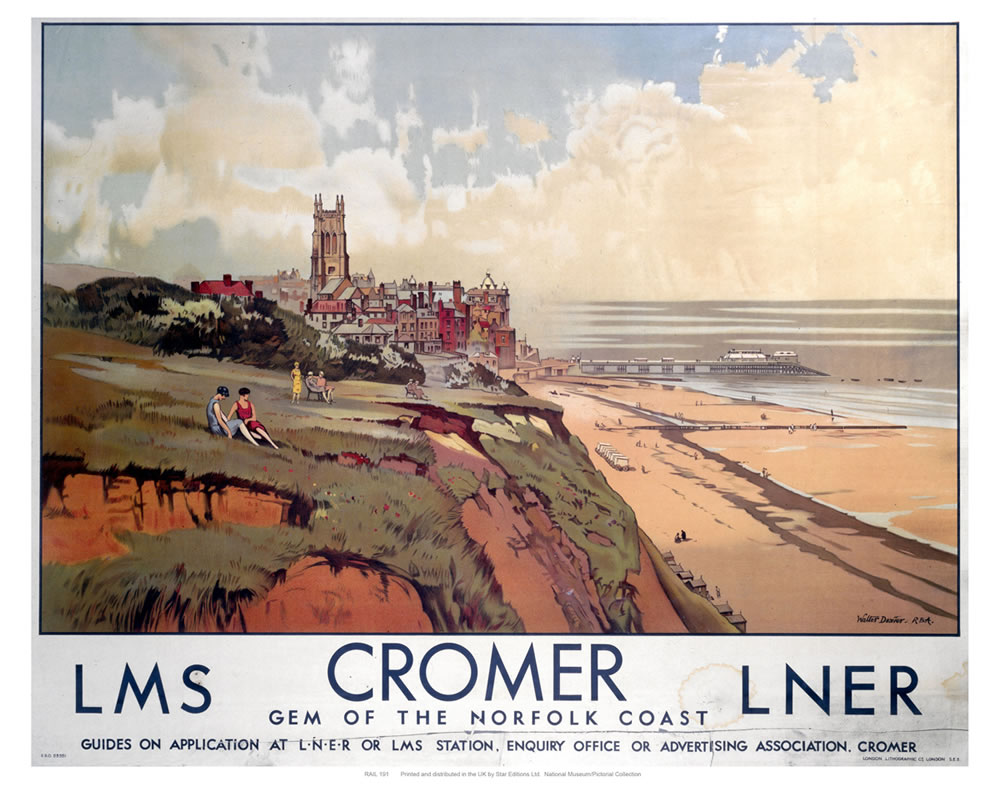 Cromer Gem of the Norfolk Coast Art Print