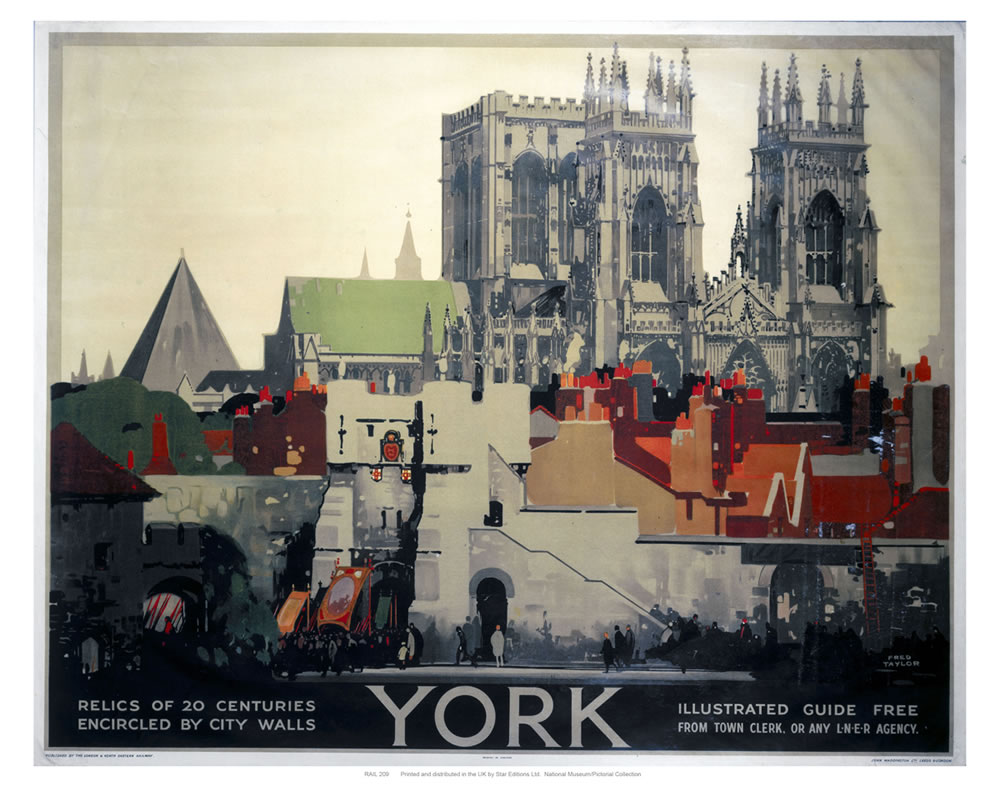 York Relics of 20 Centuries Art Print