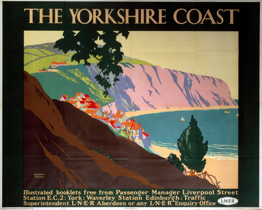 The Yorkshire Coast LNER Art Print
