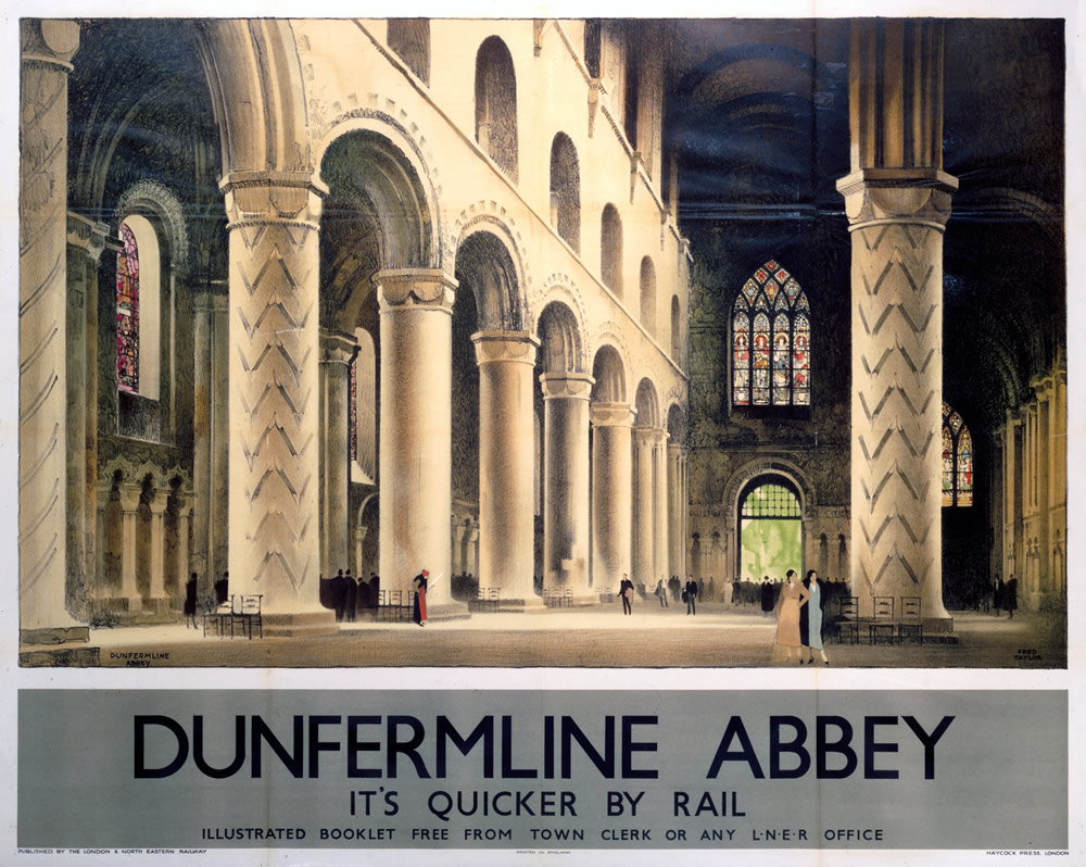Dunfermline Abbey Art Print