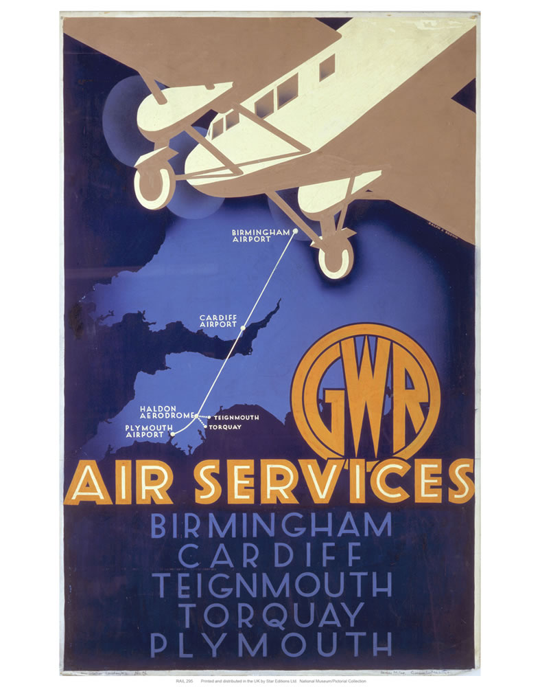 Air services Art Print