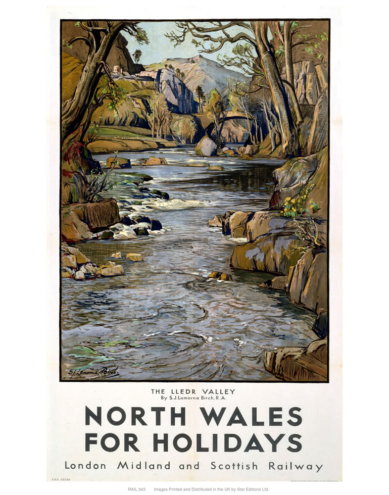 North Wales Art Print
