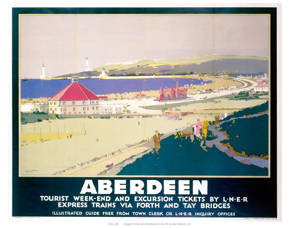 Aberdeen tourist weekend Art Print