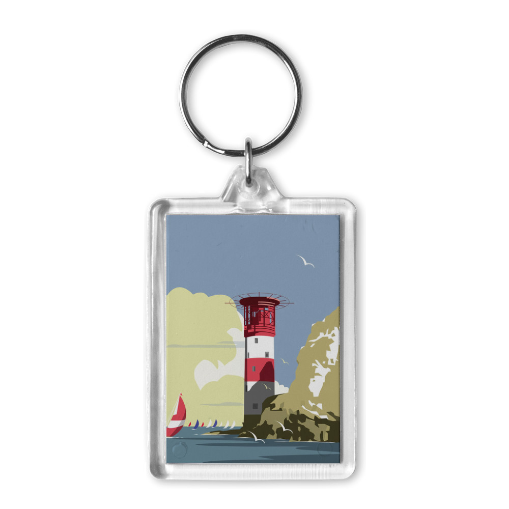 The Needles Blank Acrylic Keyring