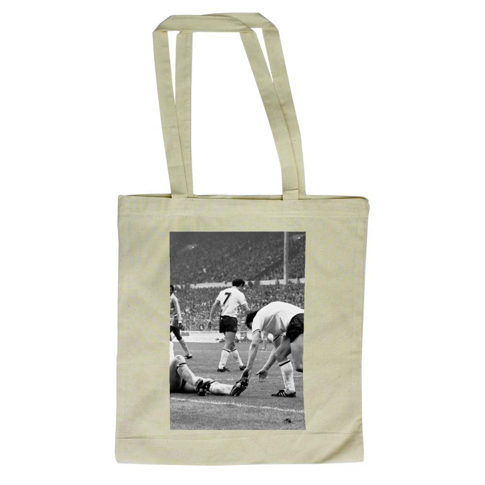 1981 FA Cup Final at Wembley Stadium  Manchester City v Tottenham  Hotspur    Tote Bag