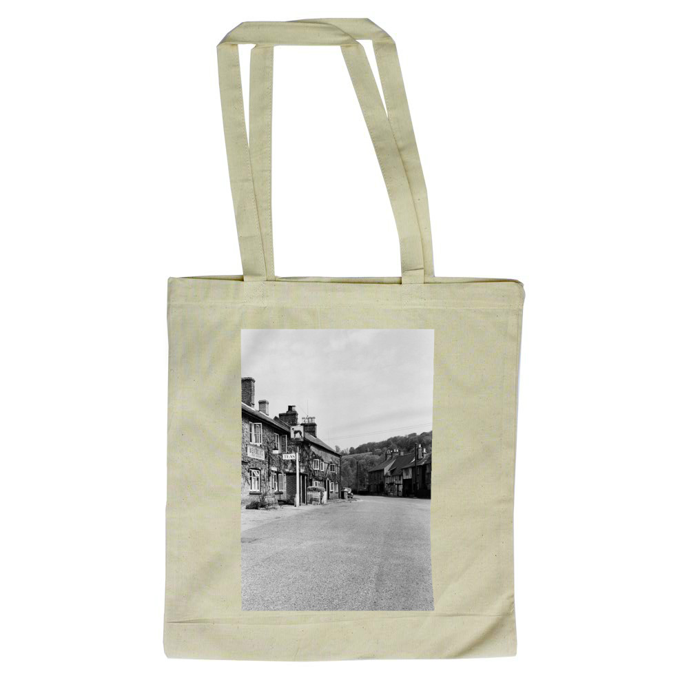 Views of Aldbury Village, near Tring in.. Tote Bag
