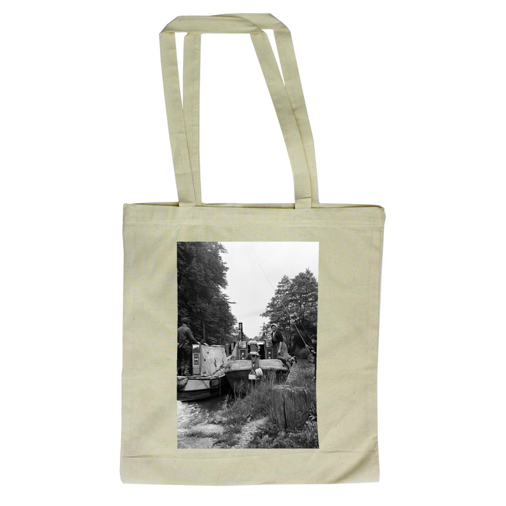 Views along the Grand Union Canal, in.. Tote Bag