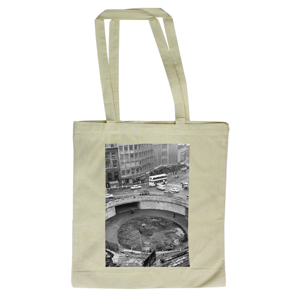 Sheffield Subway, 1967 Tote Bag