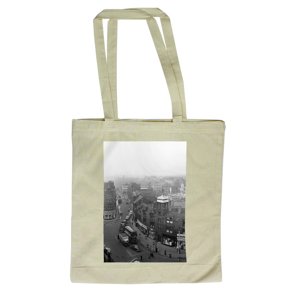 Doncaster, South Yorkshire, 1962. Tote Bag