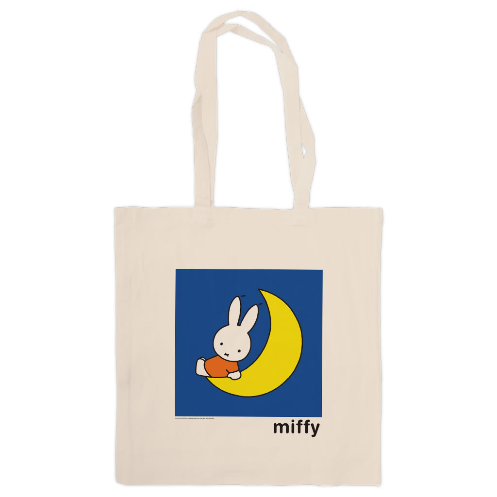 Miffy Sat on the Moon Tote Shopper Bag